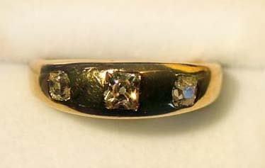 5: Antique diamond ring