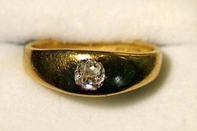 6: Antique diamond ring