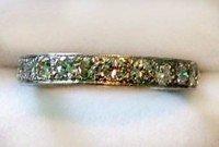 7: Ladies diamond eternity ring
