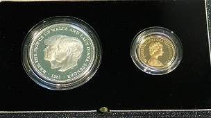 957 Elizabeth II proof sovereign 1981