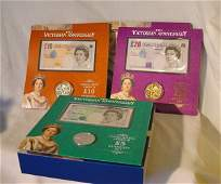 964 Q Mother Century set with banknotes