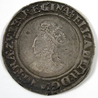 1: Elizabeth I shilling