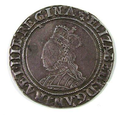 3: Elizabeth I shilling