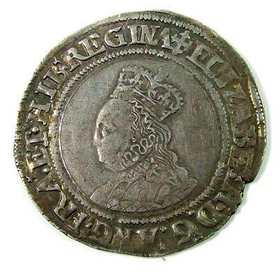 4: Elizabeth I shilling