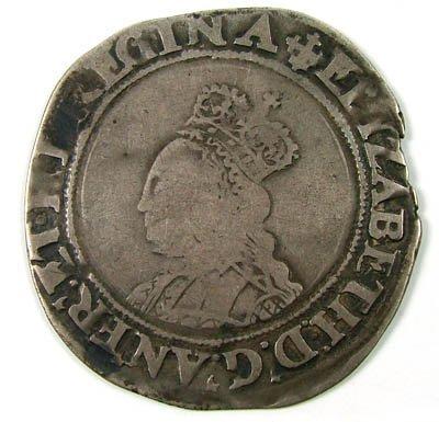 7: Elizabeth I shilling