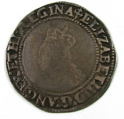 8: Elizabeth I shilling
