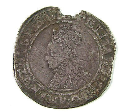 10: Elizabeth I shilling