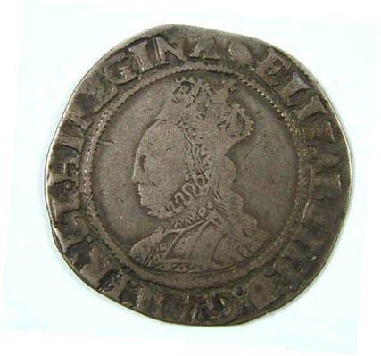 11: Elizabeth I shilling
