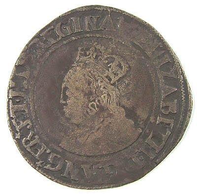 12: Elizabeth I shilling