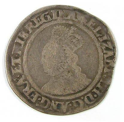 13: Elizabeth I shilling