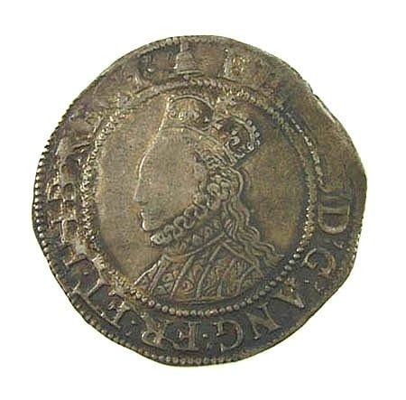 14: Elizabeth I shilling