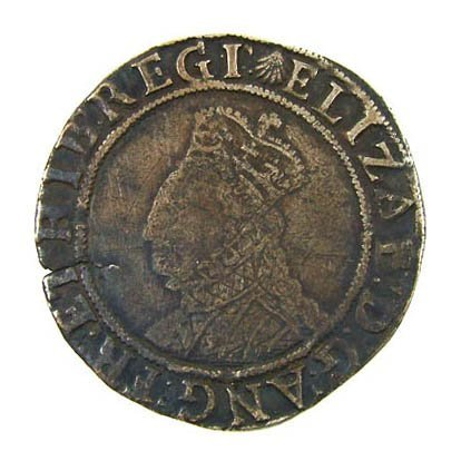 16: Elizabeth I shilling