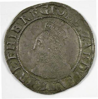 18: Elizabeth I shilling