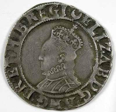 20: Elizabeth I shilling