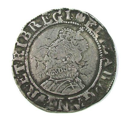 21: Elizabeth I shilling