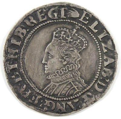 22: Elizabeth I shilling