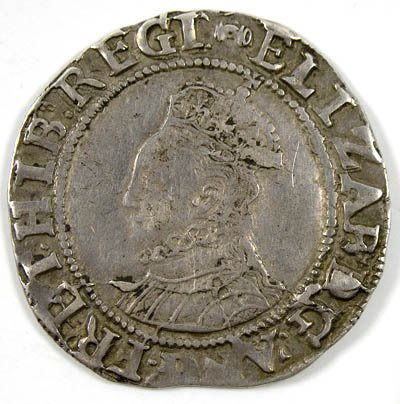 23: Elizabeth I shilling