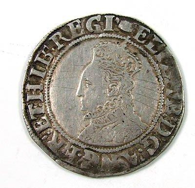 24: Elizabeth I shilling
