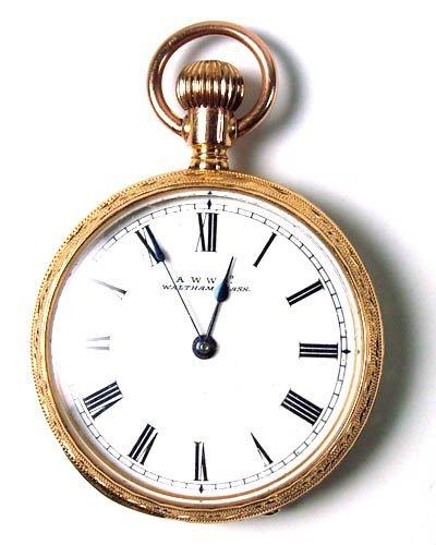 753: Dress pocket watch by Watham