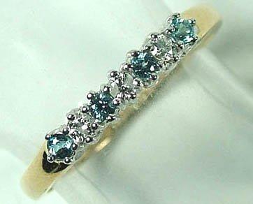 772: Ladies' half eternity ring