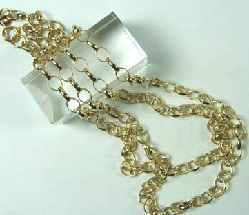 775: Oval belcher chain