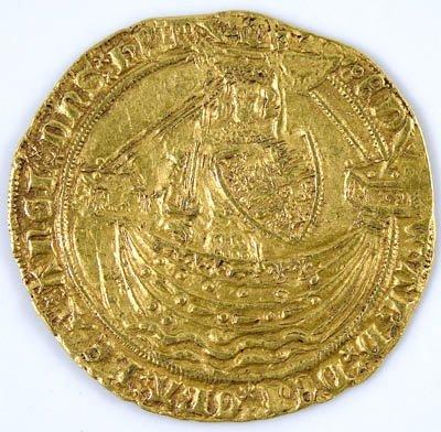 1147: Edward III gold noble