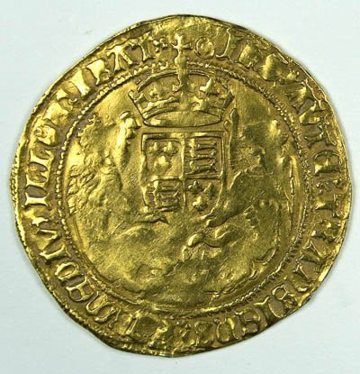 1149: Henry VIII gold half sovereign