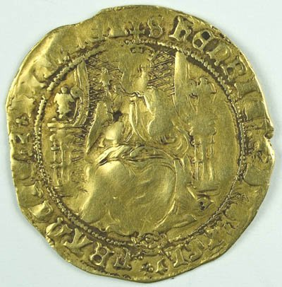 1150: Henry VIII gold half sovereign