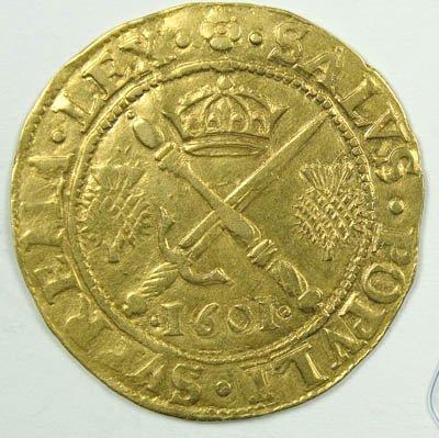 1154: James VI of Scotland gold coin