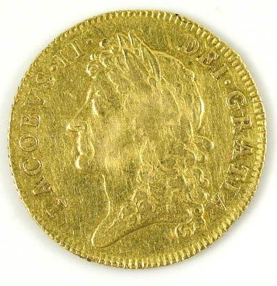 1158: James II guinea, 1685