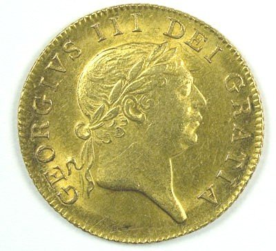 1161: George III guinea, 1813