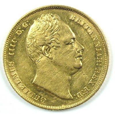 1166: William IV sovereign, 1831