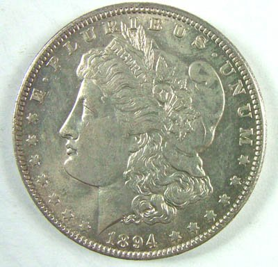1518: USA, AR dollar, 1894 O