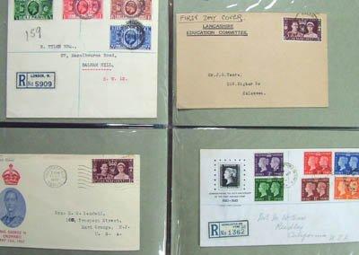 1870: GB, George V to E.II covers