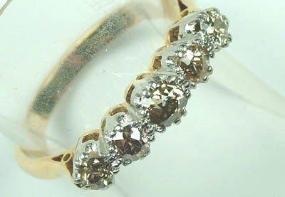 6: Ladies five stone diamond ring