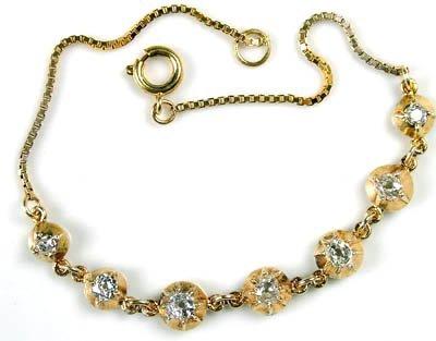 11: Ladies diamond set bracelet