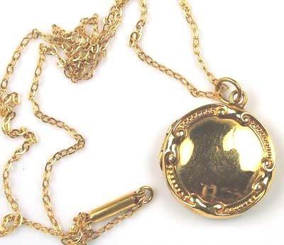 21: Antique locket