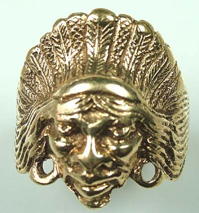 24: Indian head ring