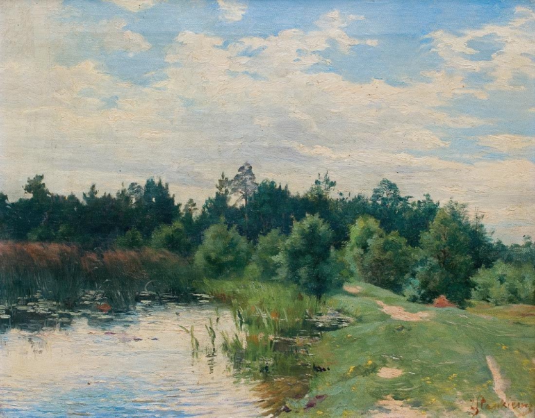 Stankiewicz Zofia - LAKE, CIRCA 1900