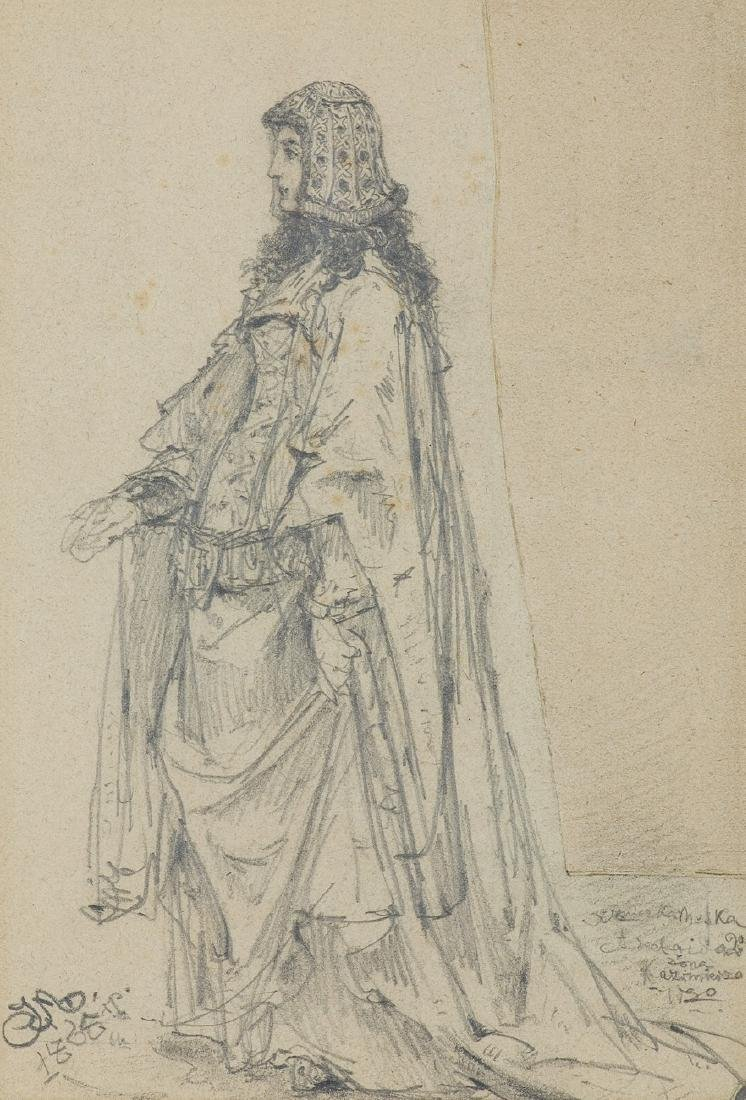 Matejko Jan - ADELEIDA, THE HESSEN PRINCESS, 1865