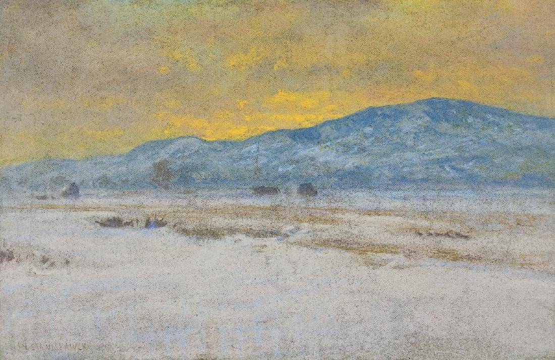 Stanislawski Jan - MOUNTAIN LANDSCAPE, CIRCA 1900