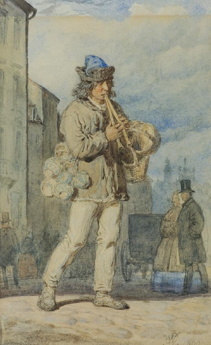 Gerson Wojciech - WANDERING MUSICIAN, 1860