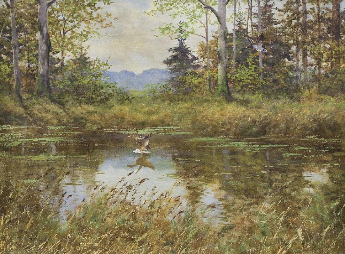 Majewicz Georg (George) - FLYING DUCKS