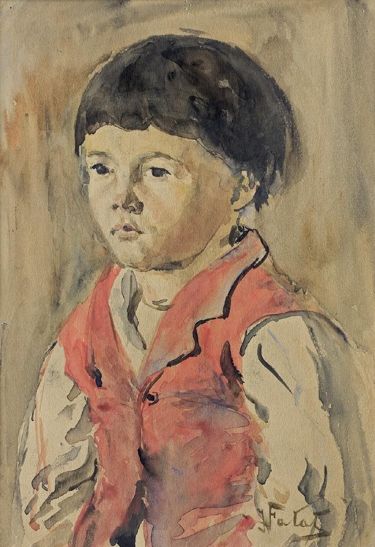 Falat Julian - BOY IN RED JERKIN