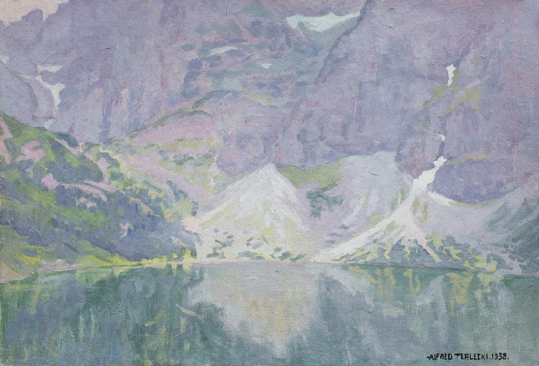 Terlecki Alfred - MORSKIE OKO, LAKE IN TATRA MOUNTAINS,