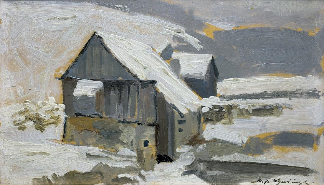 Wywiorski Michal Gorstkin - IN THE WINTER, CIRCA