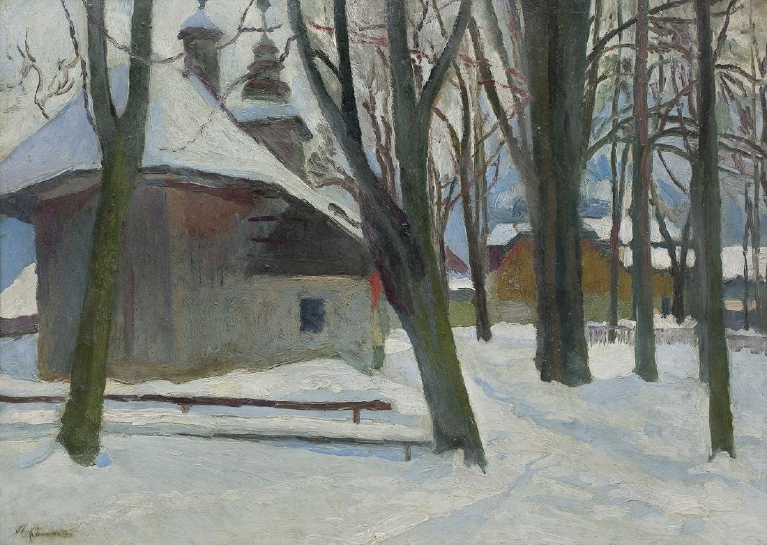 Kamocki Stanislaw -  CHURCH IN ZAKOPANE, 1932