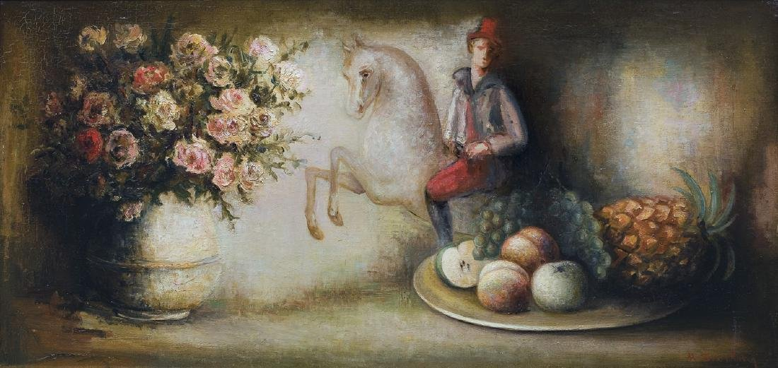 Sterling Marc - STILL LIFE WITH PONIES, 1929