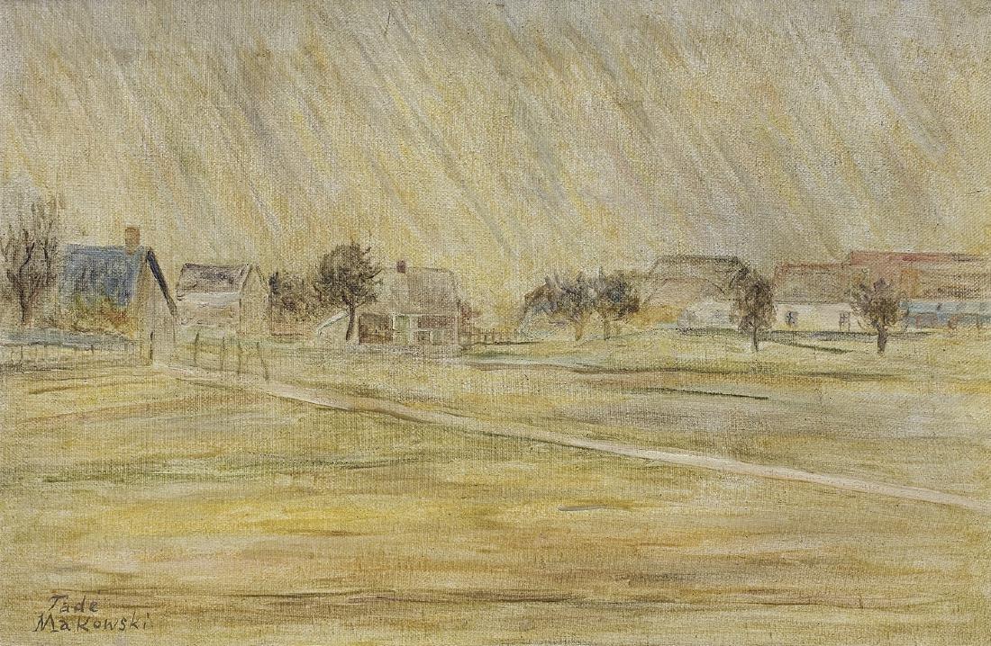 Makowski Tadeusz - RAIN (LA PLUIE), 1926 - 1927