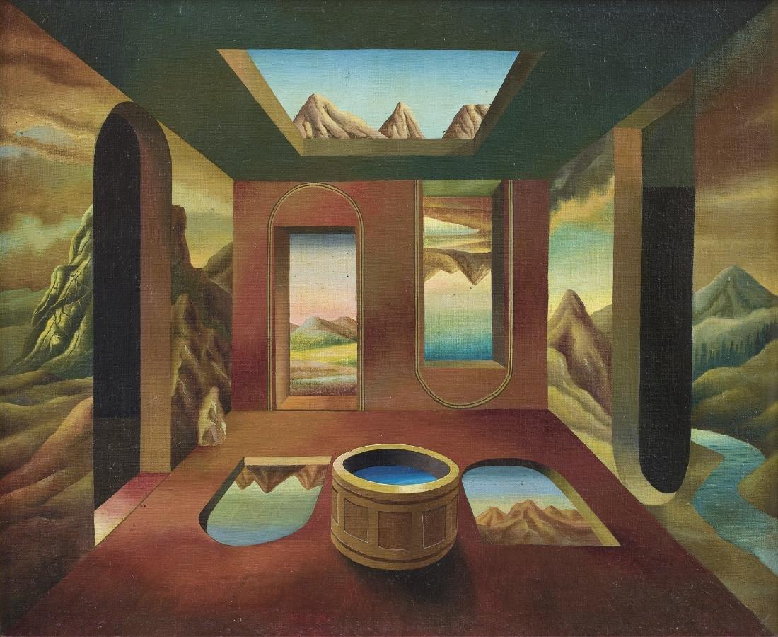 Waniek Henryk - THEATRE OF THE WORLD III, 1976